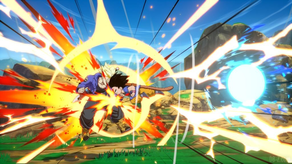 Goku GT Enfant Dragon Ball FighterZ Reverse Kamehameha