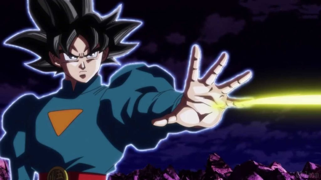 Goku Ultra Instinct Tenue Grand Pretre 00002
