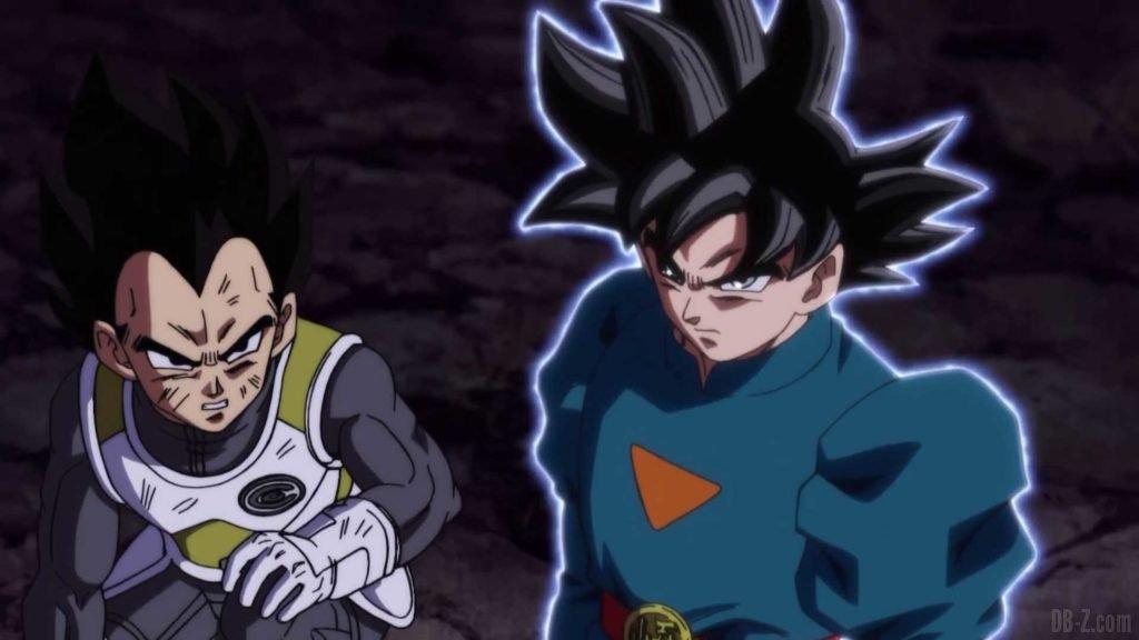 Goku Ultra Instinct Tenue Grand Pretre 00005