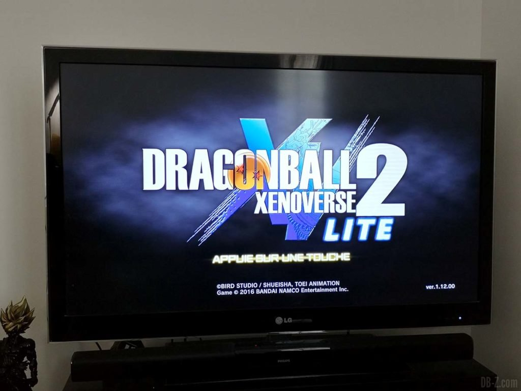 Dragon Ball Xenoverse 2 Lite - Accueil
