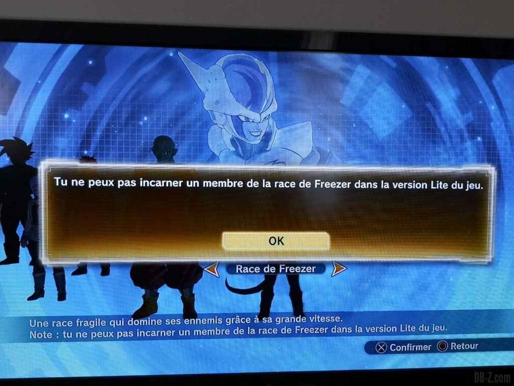 Dragon Ball Xenoverse 2 Avatar Clan de Freezer