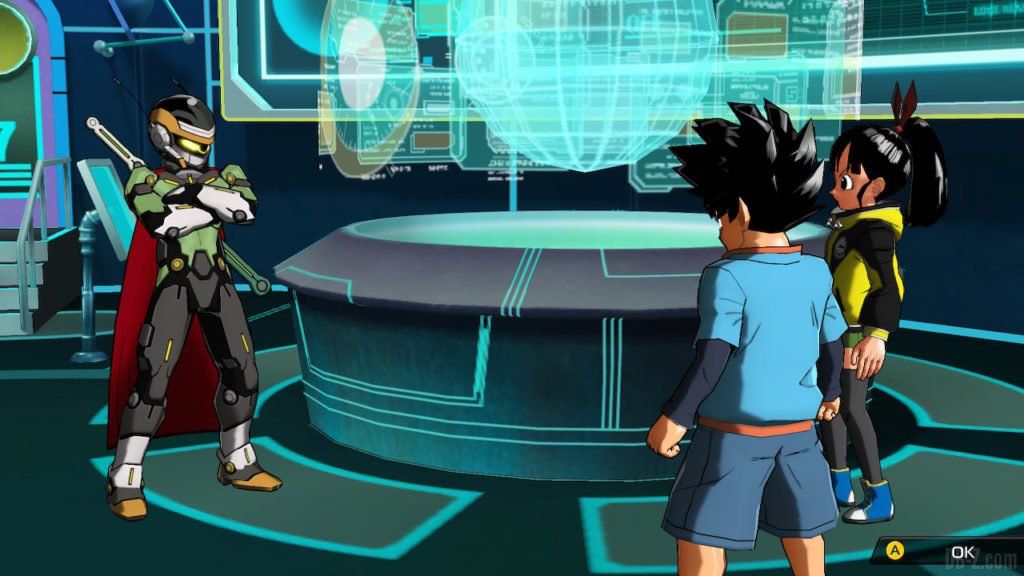 Les héros de Super Dragon Ball Heroes World Mission