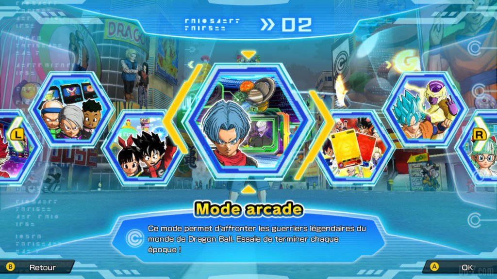 Mode Arcade (SDBH World Mission)