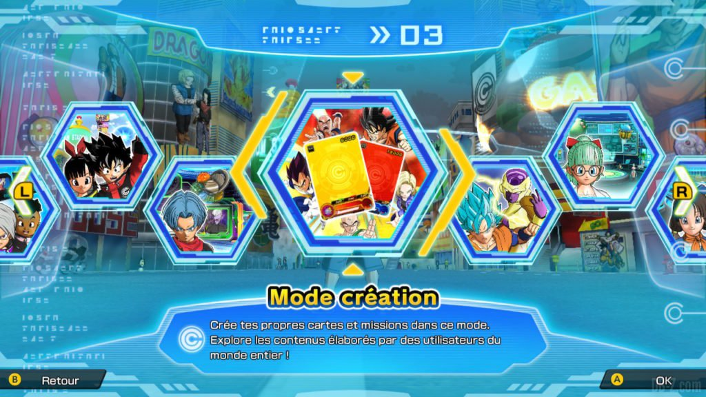 Mode Création (SDBH World Mission)