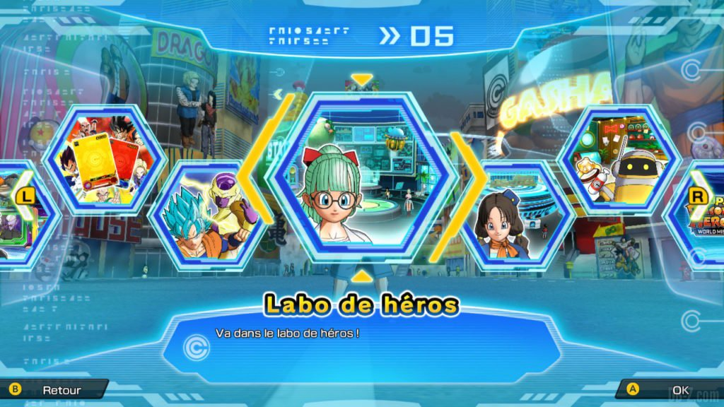 Labo des héros (SDBH World Mission)