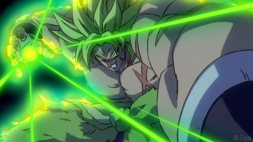 Broly Super Saiyan Full Power Film Dragon Ball Super Broly