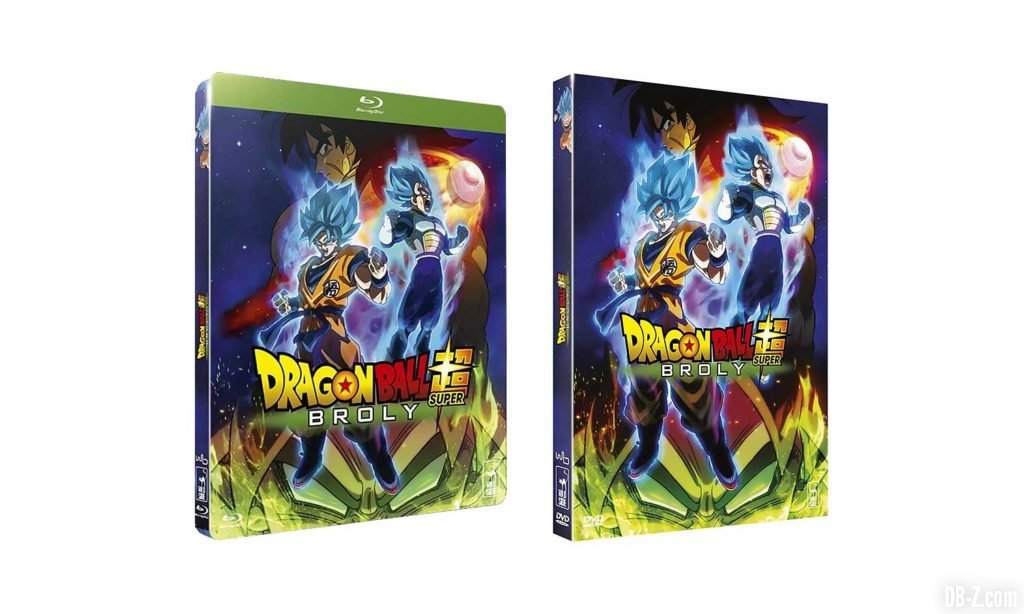 Promo Dragon Ball Super Broly Blu-Ray DVD