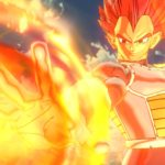 Vegeta Super Saiyan God Dragon Ball Xenoverse 2