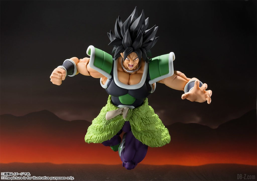 S.H.Figuarts Broly (armure)