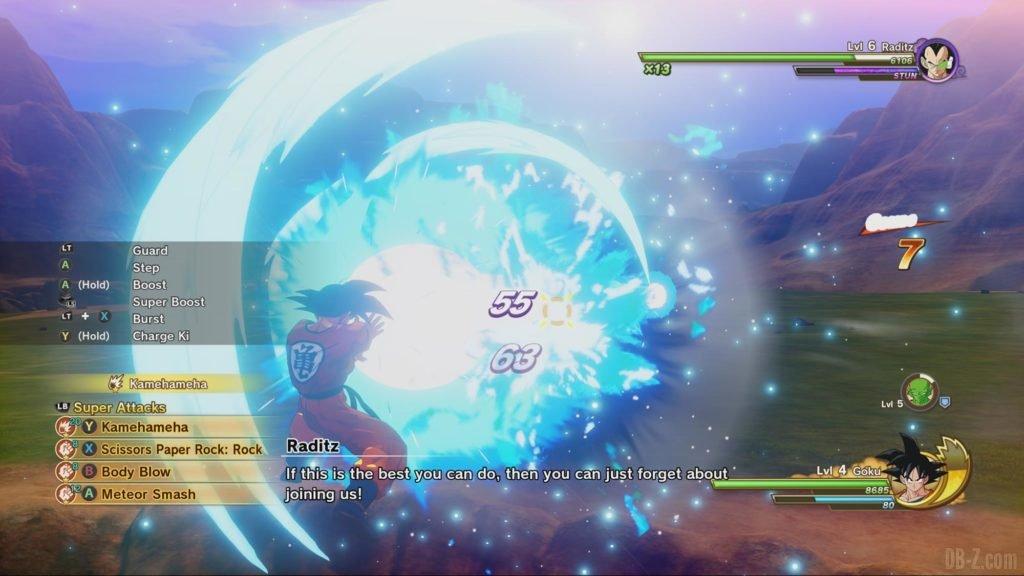 Dragon Ball Z Kakarot : Kamehameha