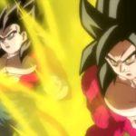 SDBH Universe Mission 9 Opening Goku Vegeta Super Saiyan 4