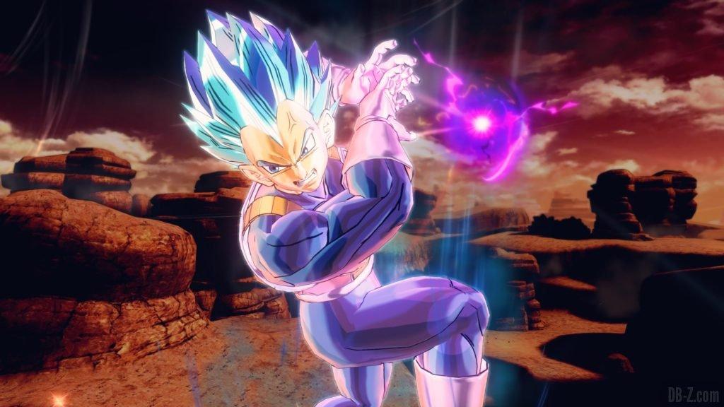 Vegeta SSGSS évolué Dragon Ball Xenoverse 2