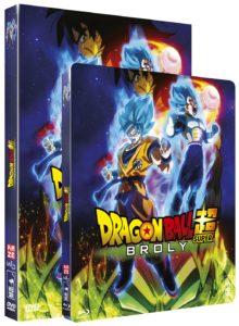 DBS BROLY DVDBlu ray
