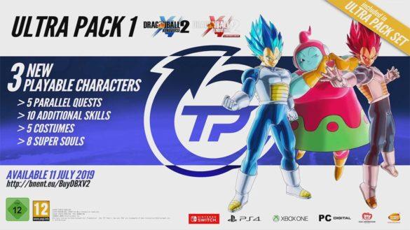 Dragon Ball Xenoverse 2 Ultra Pack 1 Contenu