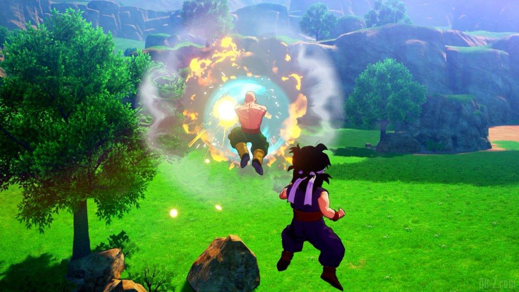Dragon Ball Z Kakarot Tenshinhan Soutien