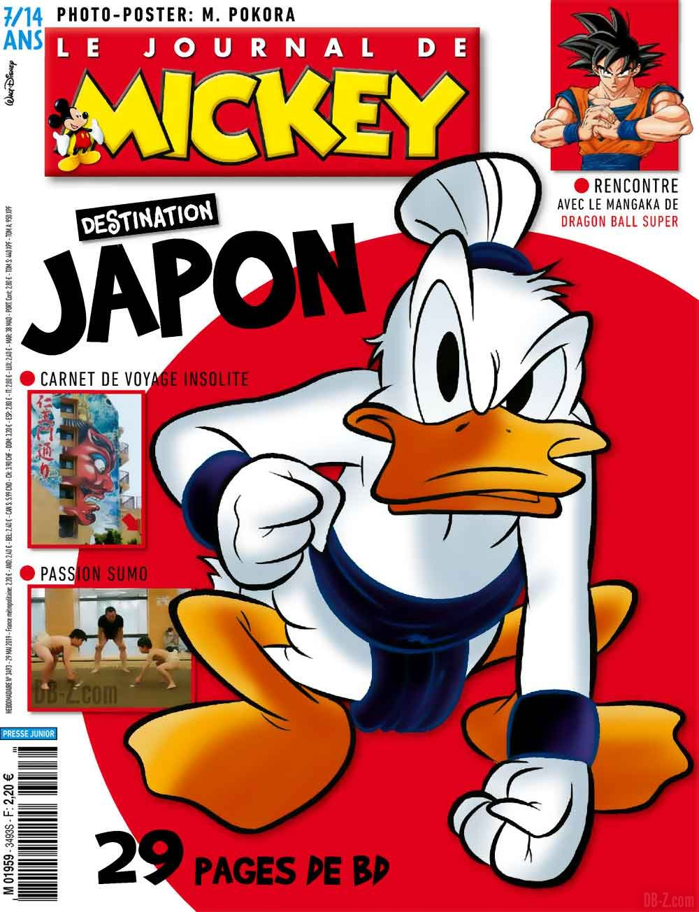 Journal de Mickey Interview de Toyotaro