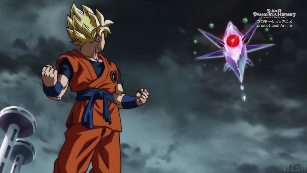 Super Dragon Ball Heroes Episode 13 001 Goku Super Saiyan