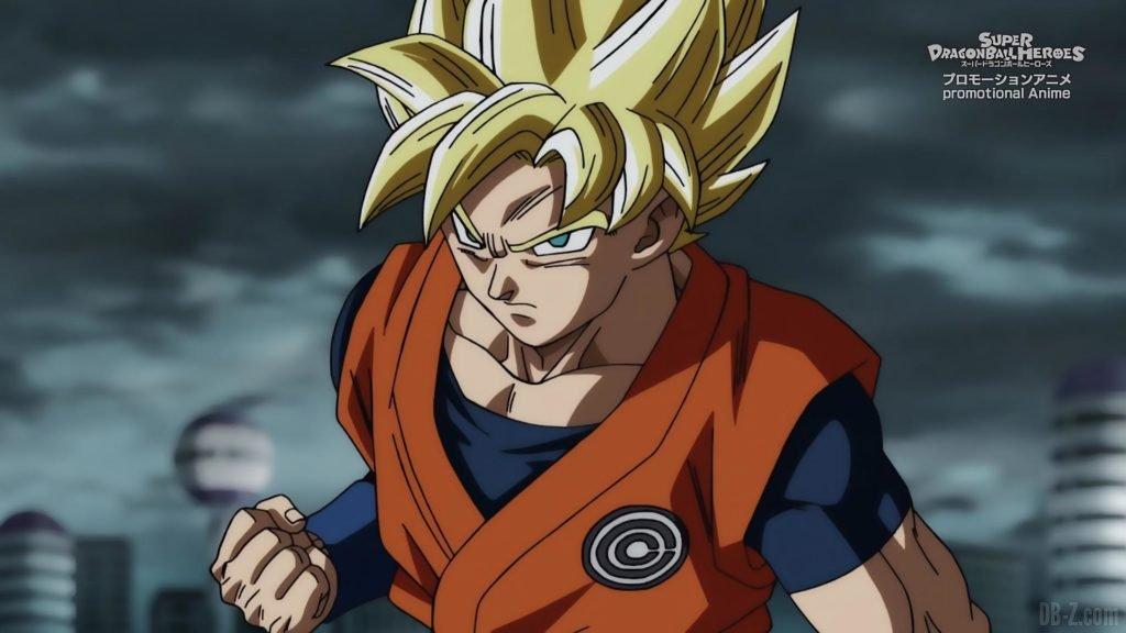 Super Dragon Ball Heroes Episode 13 002 Goku Super Saiyan