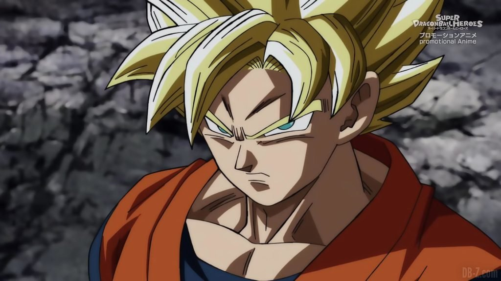 Super Dragon Ball Heroes Episode 13 005 Goku Super Saiyan