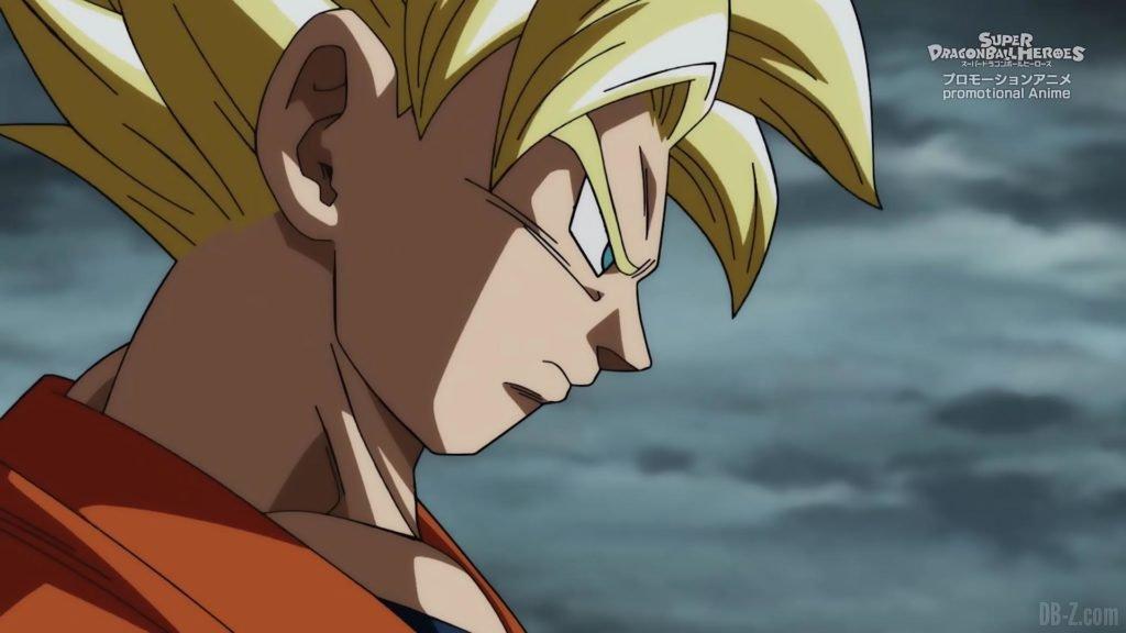 Super Dragon Ball Heroes Episode 13 006 Goku Super Saiyan