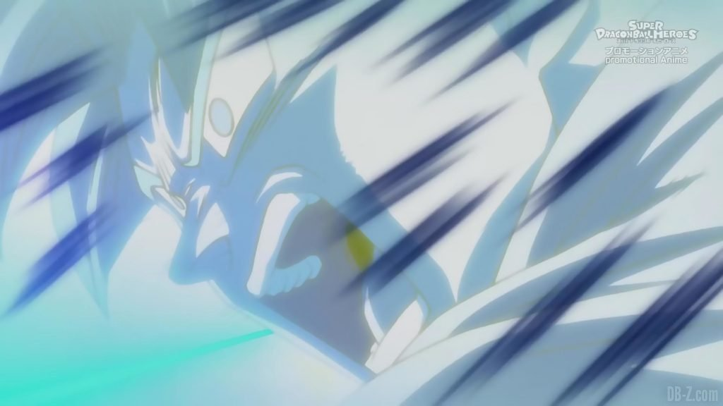 Super Dragon Ball Heroes Episode 13 024 Goku SSGSS Super Saiyan Blue Kamehameha