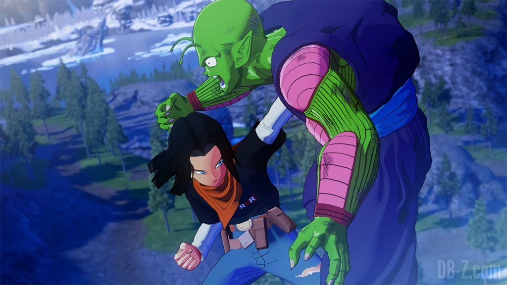 C 17 vs Piccolo Dragon Ball Z Kakarot