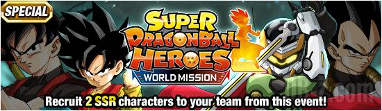 Dokkan Heroes WorldMission Banner