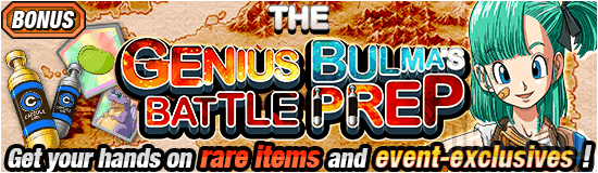 Dokkan The Genius Bulma Battle Prep Banner