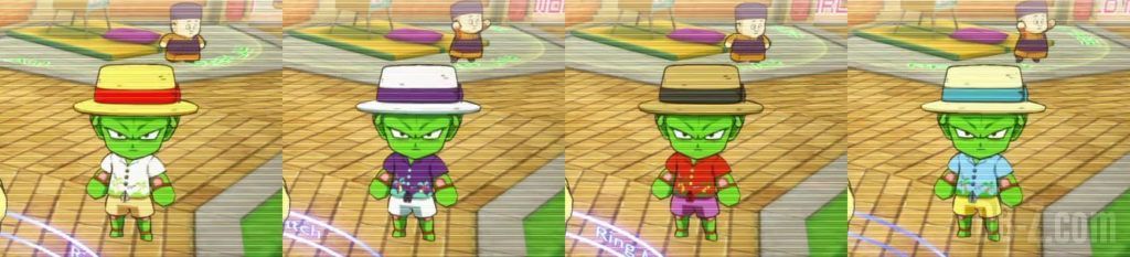 Dragon Ball FighterZ Personnages du Hall été Piccolo