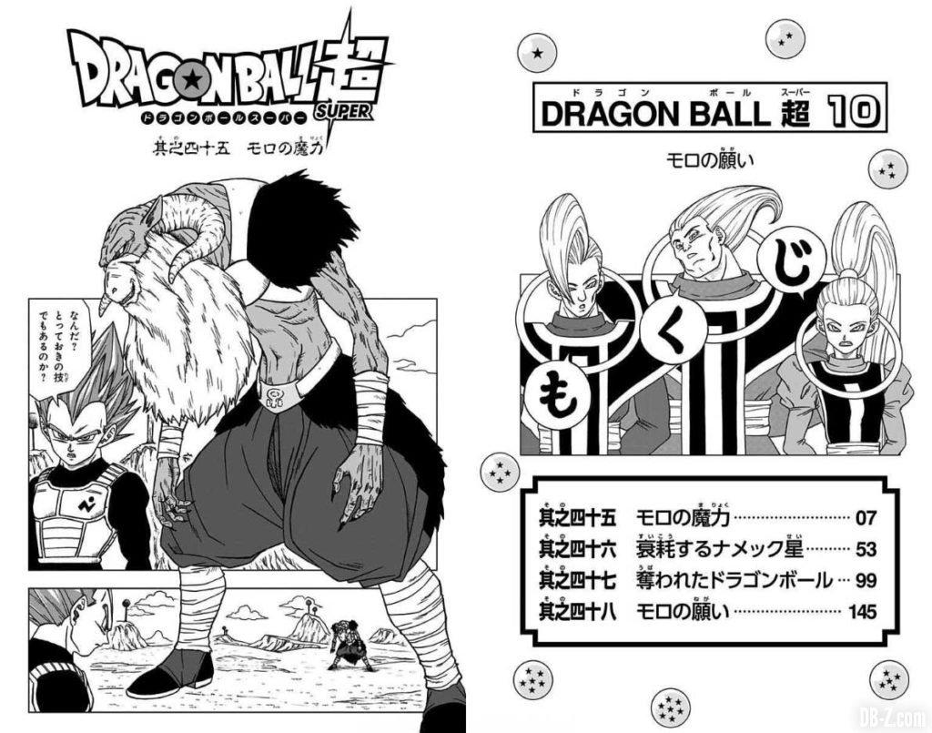 Dragon Ball Super Tome 10 Page 5 6