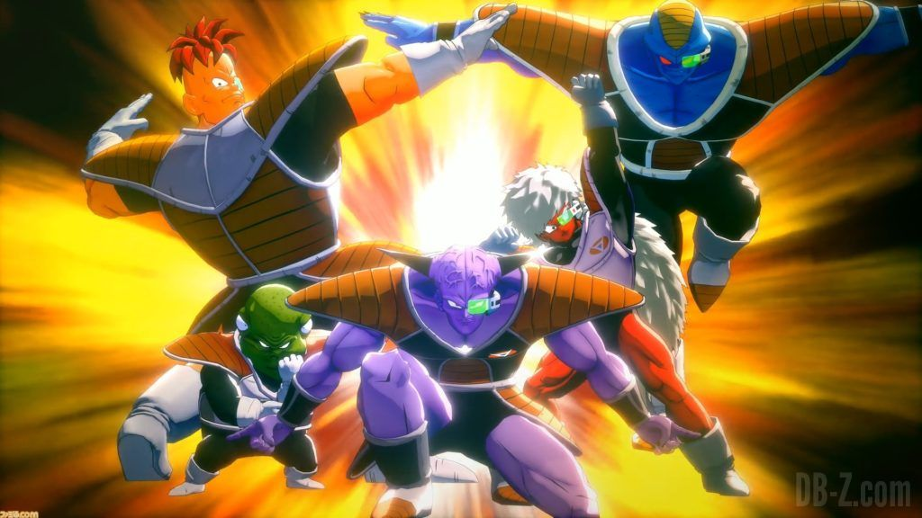 Dragon Ball Z Kakarot Commando ginyu