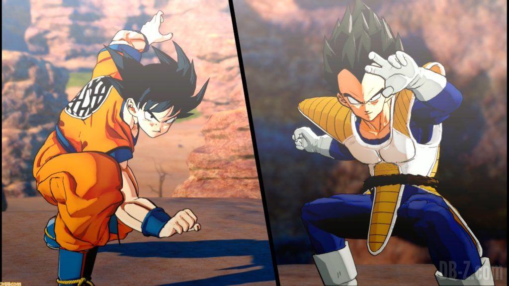 Dragon Ball Z Kakarot Goku Vegeta