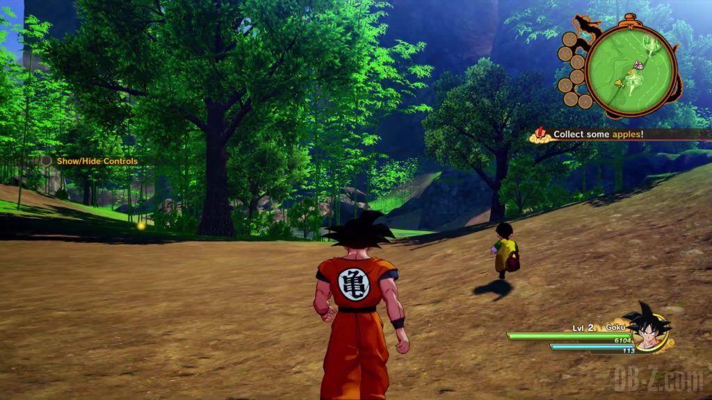 Dragon Ball Z Kakarot Trailer Gohan Cell 000010