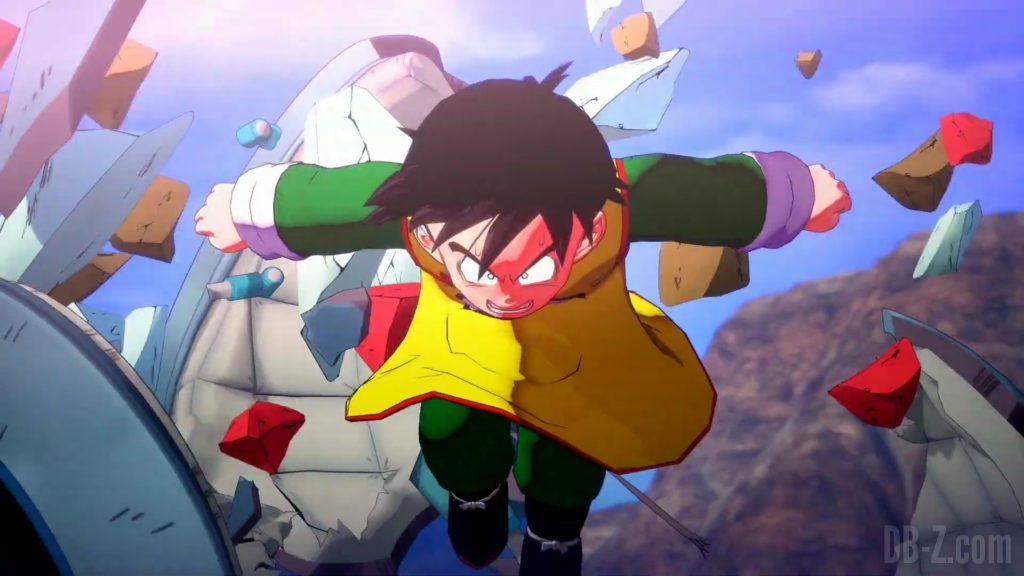Dragon Ball Z Kakarot Trailer Gohan Cell 000014