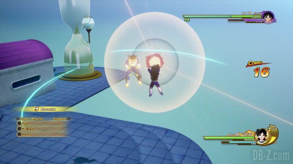 Dragon Ball Z Kakarot Trailer Gohan Cell 000023