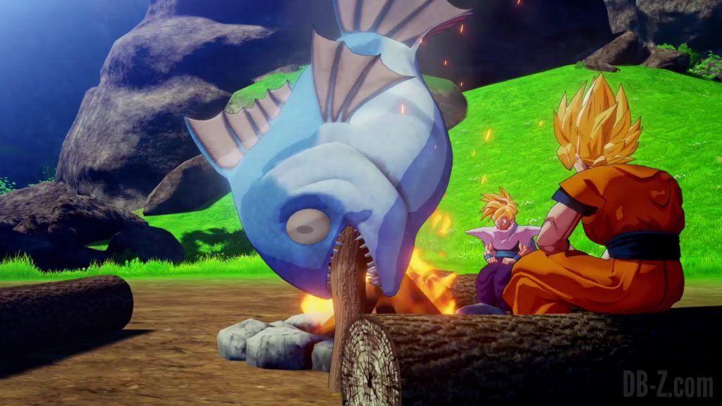 Dragon Ball Z Kakarot Trailer Gohan Cell 000025