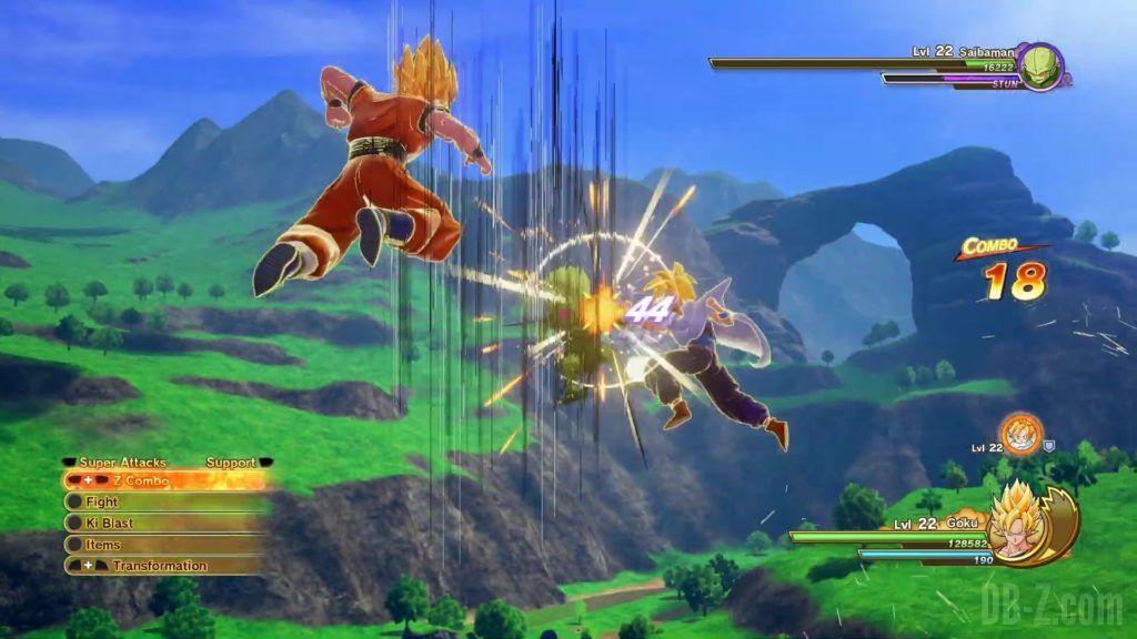 Dragon Ball Z Kakarot Trailer Gohan Cell 000026