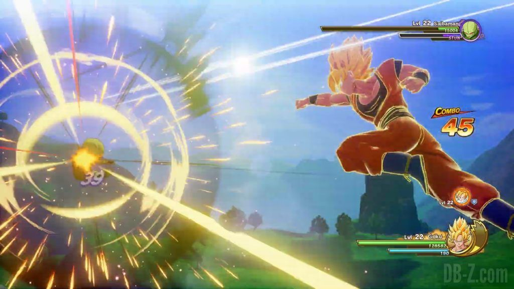 Dragon Ball Z Kakarot Trailer Gohan Cell 000027
