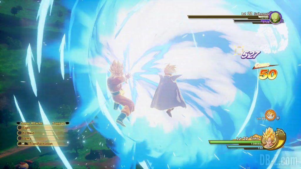 Dragon Ball Z Kakarot Trailer Gohan Cell 000029