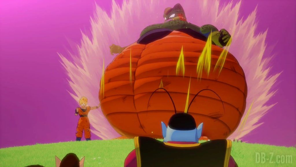 Dragon Ball Z Kakarot Trailer Gohan Cell 000031