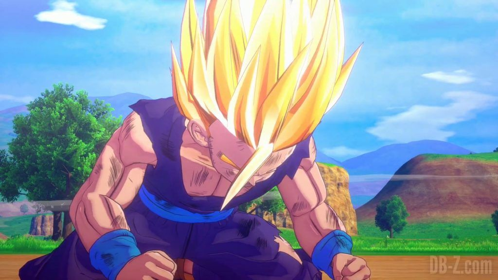 Dragon Ball Z Kakarot Trailer Gohan Cell 000033