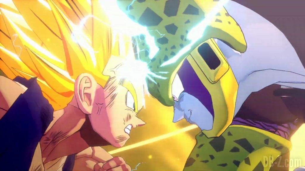Dragon Ball Z Kakarot Trailer Gohan Cell 000037