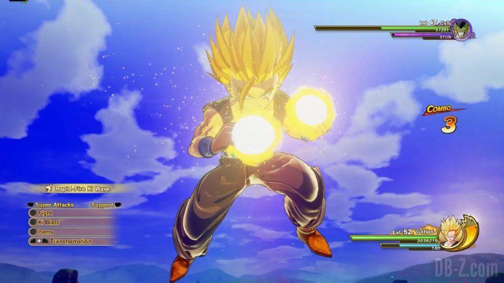 Dragon Ball Z Kakarot Trailer Gohan Cell 000039