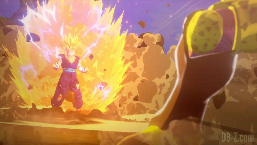 Dragon Ball Z Kakarot Trailer Gohan Cell 00004