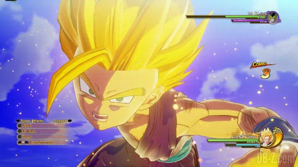 Dragon Ball Z Kakarot Trailer Gohan Cell 000040