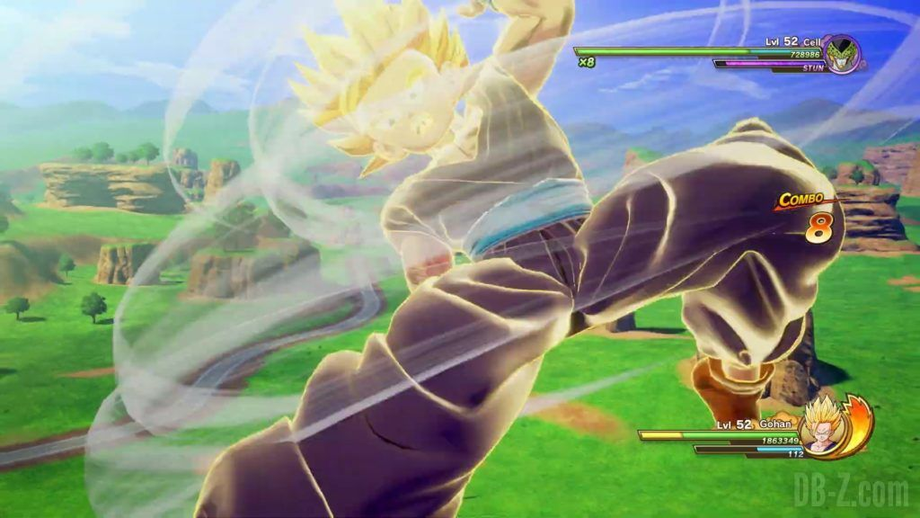 Dragon Ball Z Kakarot Trailer Gohan Cell 000041