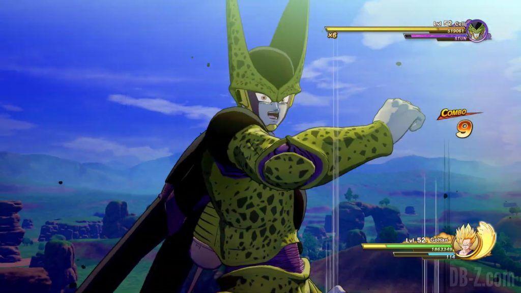 Dragon Ball Z Kakarot Trailer Gohan Cell 000044
