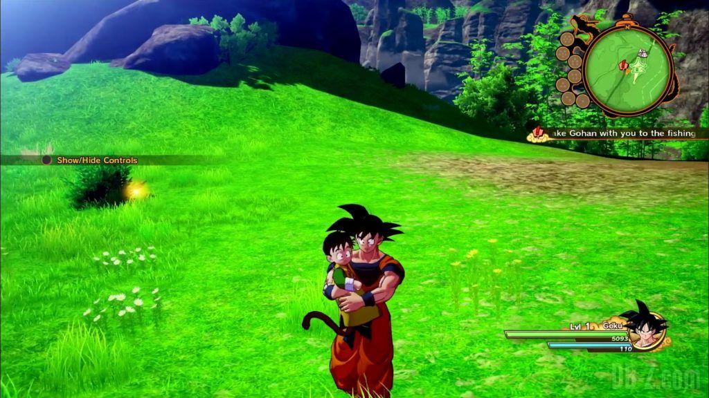 Dragon Ball Z Kakarot Trailer Gohan Cell 00009