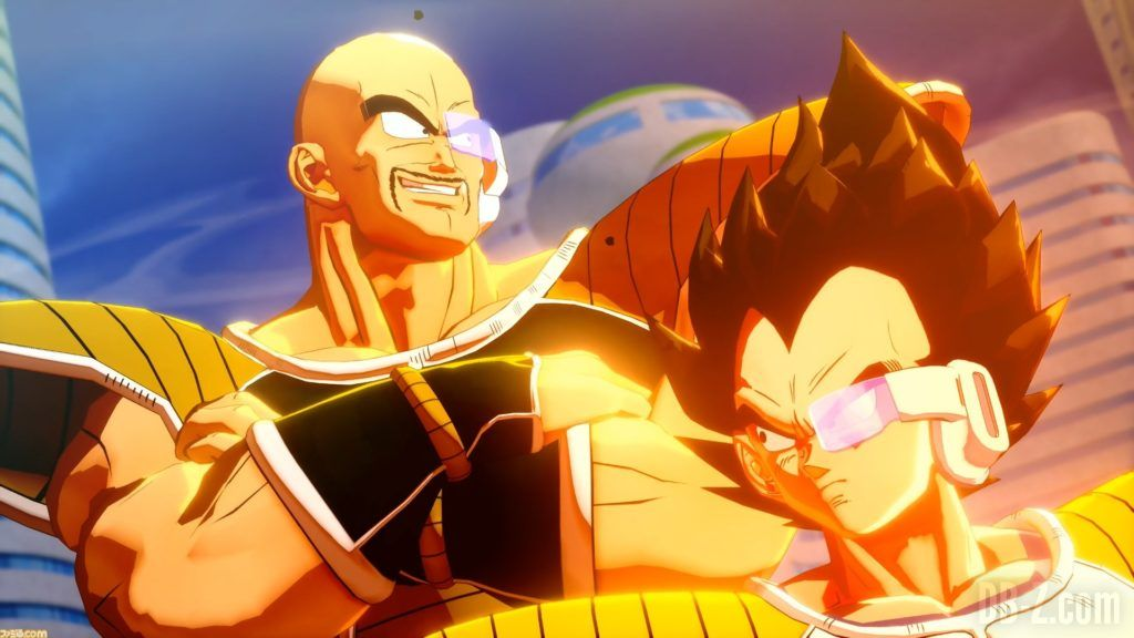 Dragon Ball Z Kakarot Vegeta Nappa