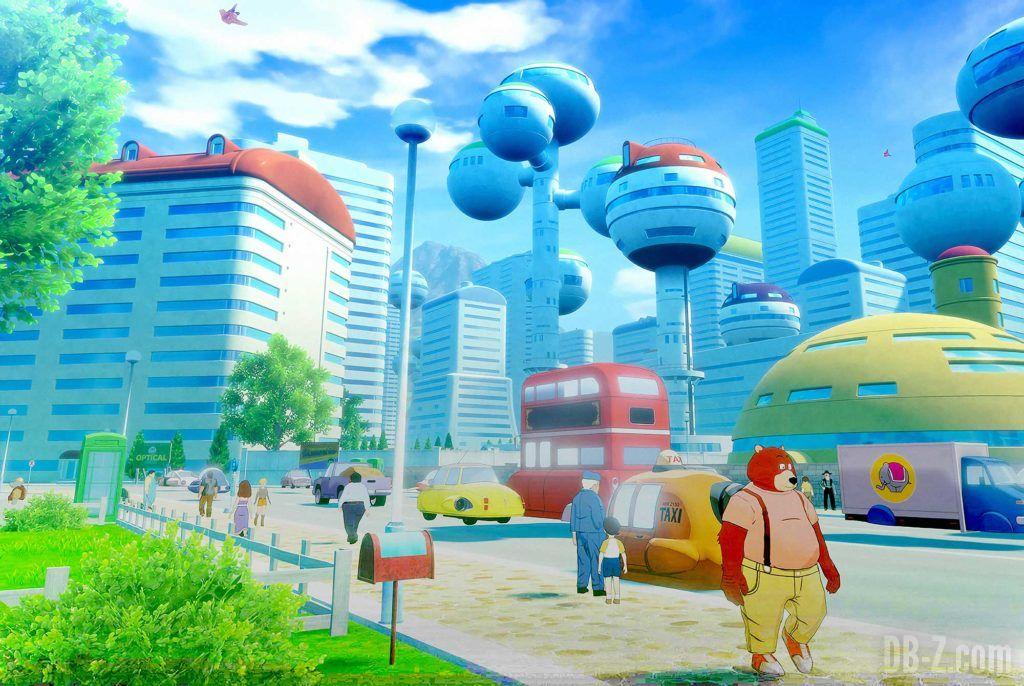 Dragon Ball Z Kakarot Ville city